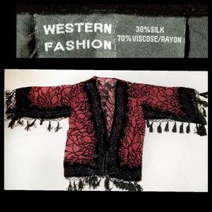 [Western Fashion]Fringe Tassels Shawl